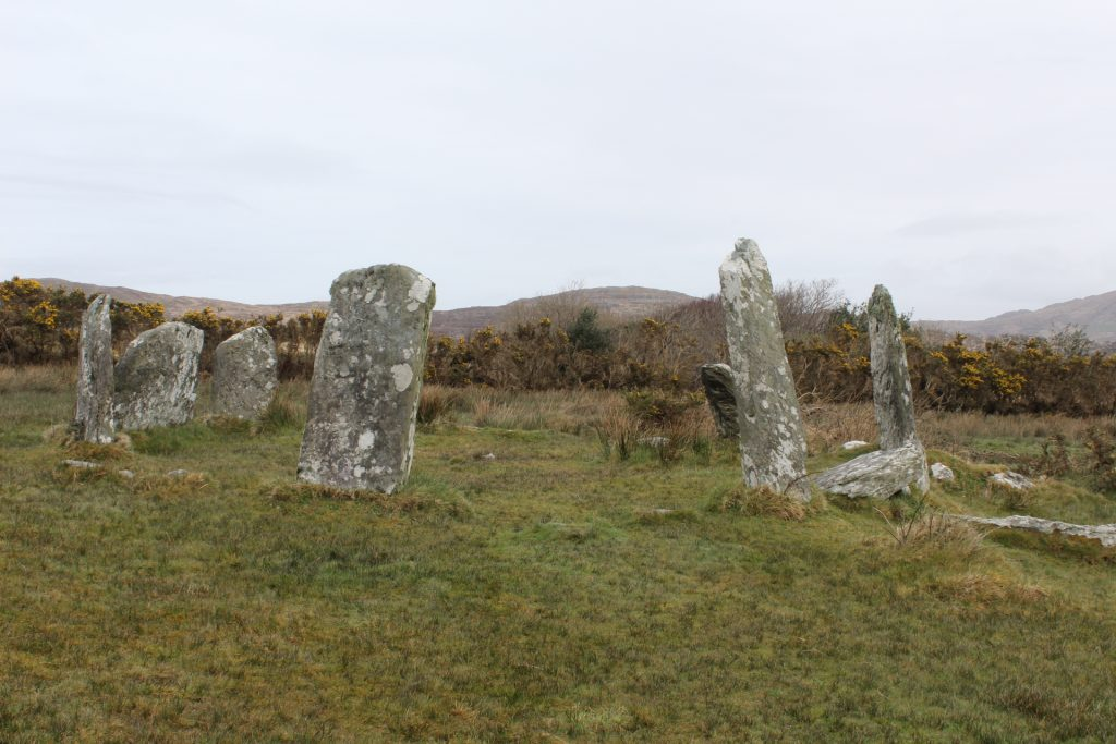 The stone circle at Dereenatagart